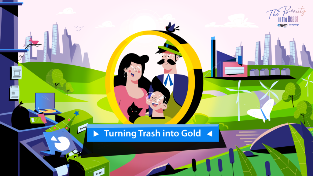Cover Turning trash into Gold
